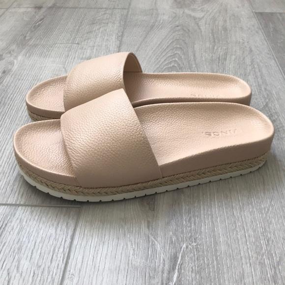 6074908b8c Vince Shoes   Nib Bloomingdales Aurelia Blush Slide   Poshmark